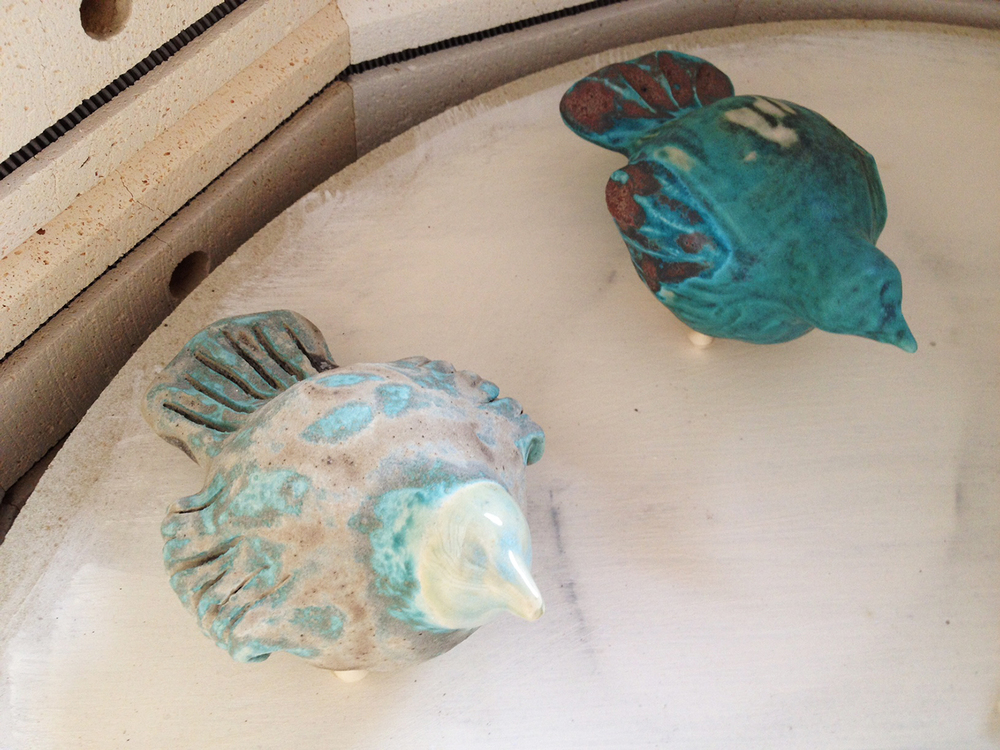 Opal & Turquoise Wedding Birds