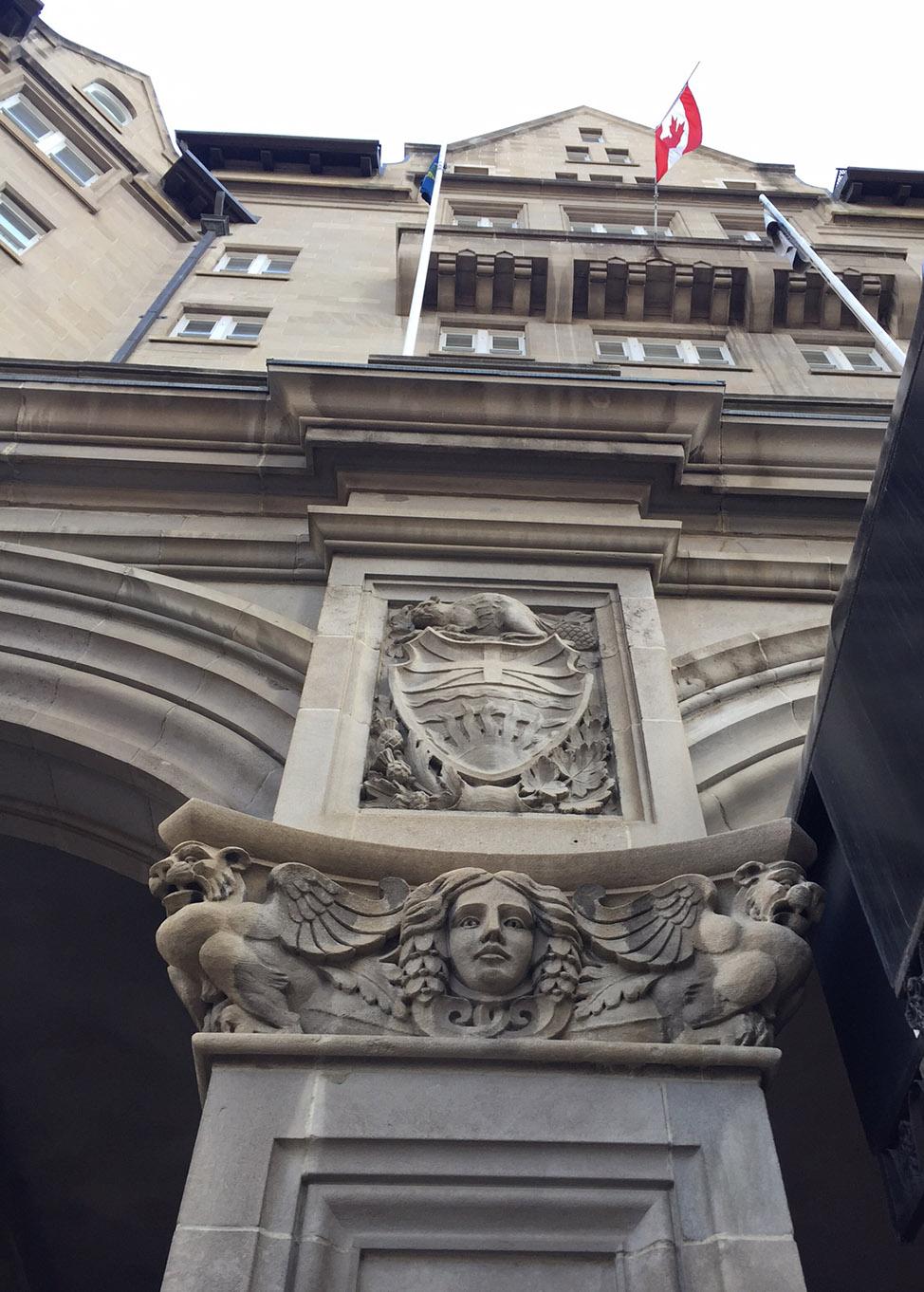MacDonald Hotel Facade