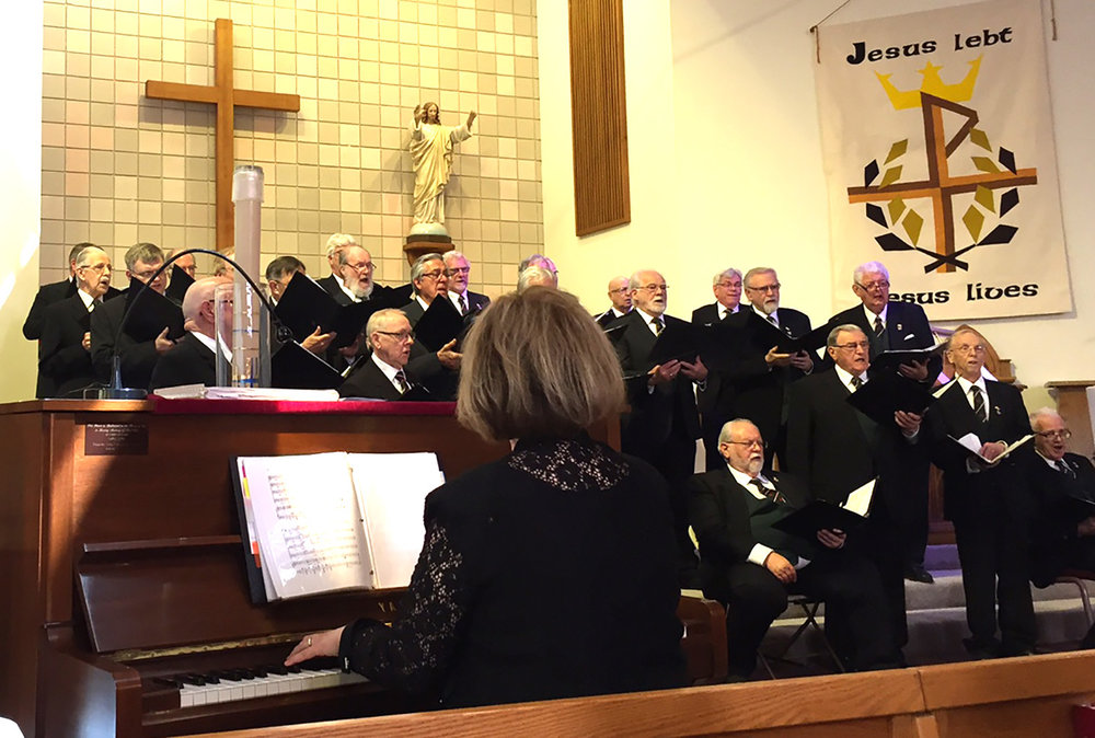 St.David's Men's Choir at St.John's