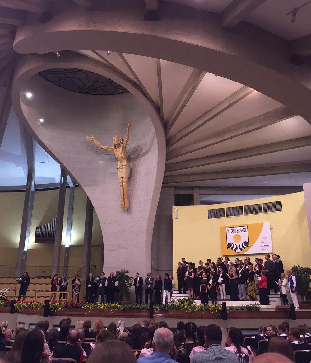 San Giovanni in Riva del Garda on awards night