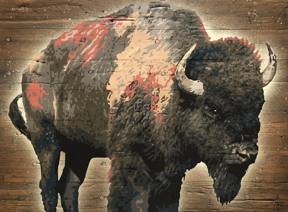 Reclaimed Buffalo