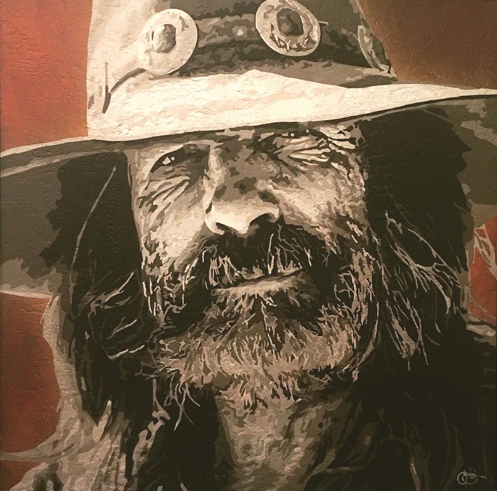 Cowboy at Dusk