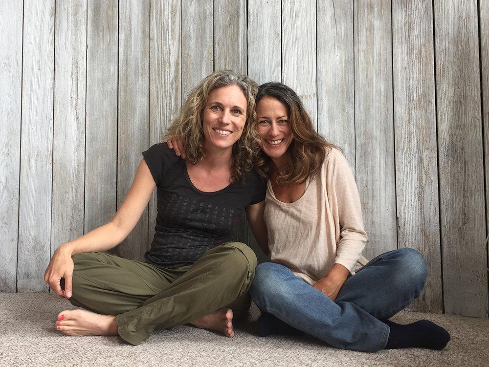 with  Chloe Conger and Lisa Goddard