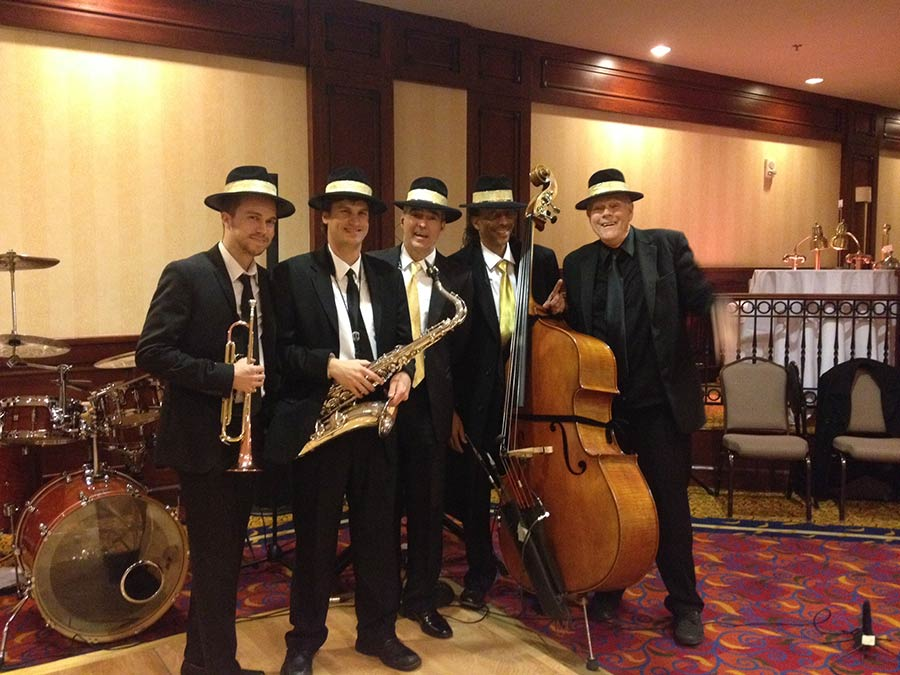New Orleans quintet at The Marriott.