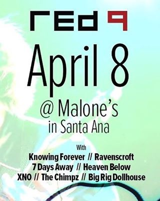 Tonight, we hit the stage at 830! #malones #santaana #benefitshow #orangecounty #hardrock