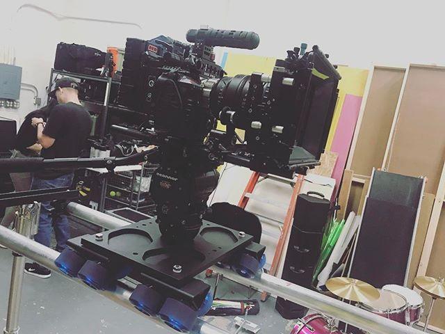 Badass camera rig. #redcamera #musicvideo #thatbeast