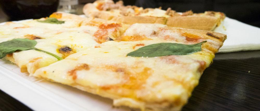 Pizza im La Pausa
