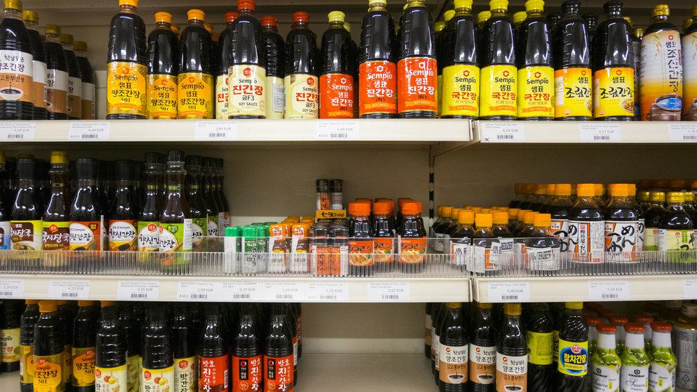 Nakwon Supermarkt im 7. Bezirk
