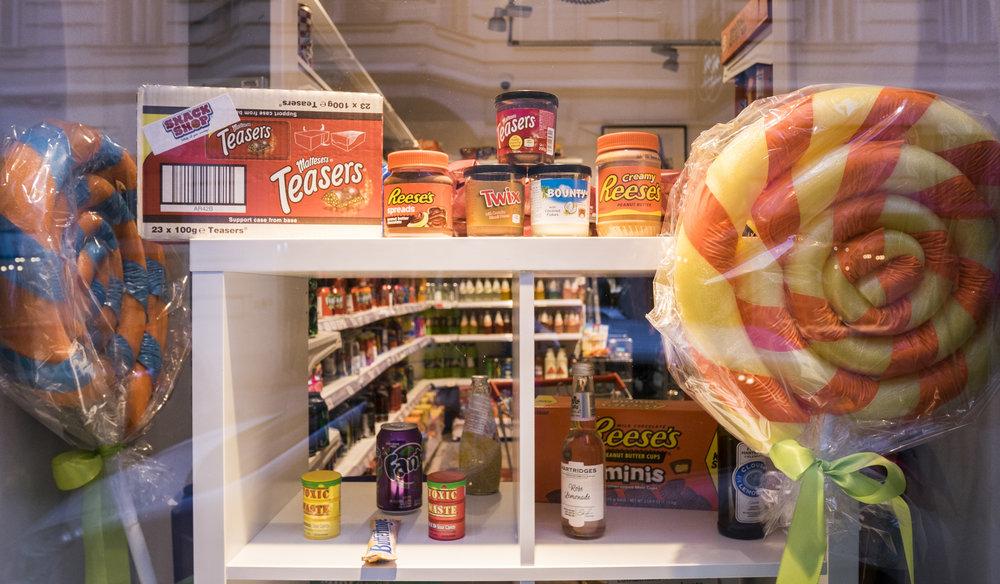 Auslage im amerikanischen Supermarkt 2.0