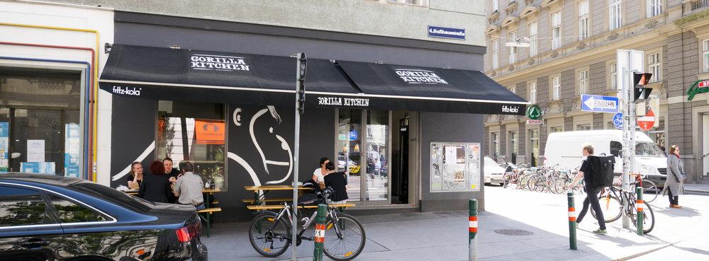 Fassade Gorilla Kitchen WIen