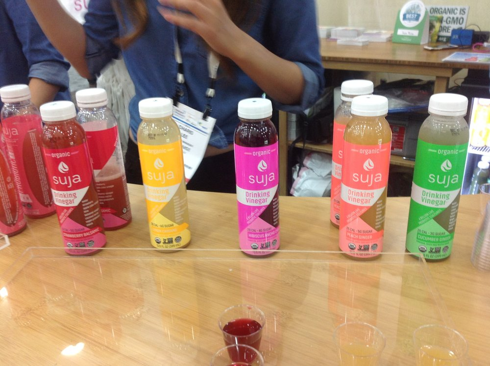 New Suja Drinking Vinegar!