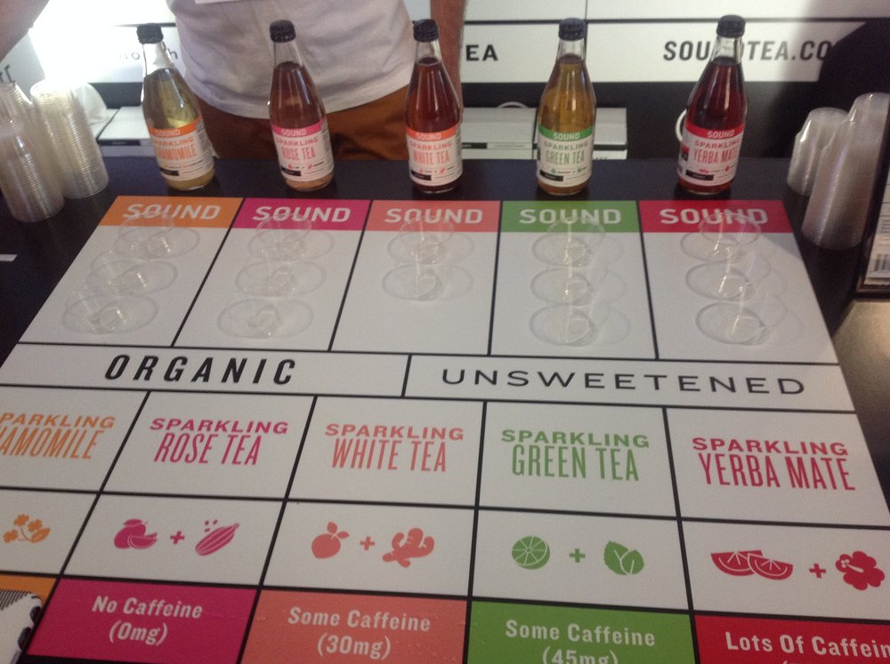 #LessIsEnough with the new Sound Tea!