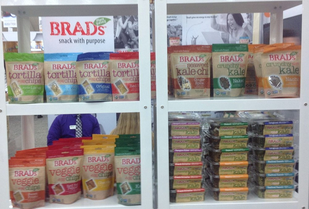 So many new choices with Brad's!