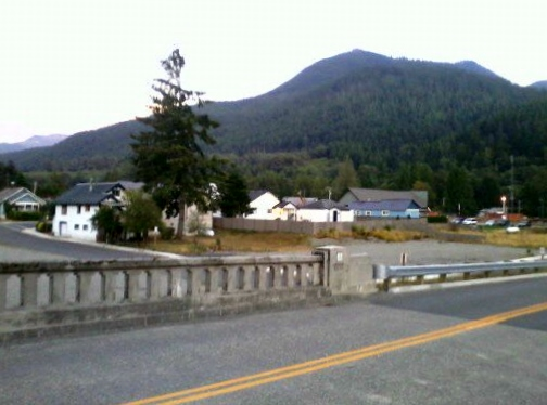 This is Skykomish, WA. Dan gave me a ride into this little town.
