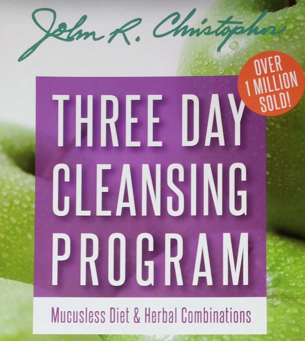 "3 Day Cleanse Book - $4.99 - This is what I consider to be the ""Reader's Digest"" version of my consultations. Hit your body's reset button!"