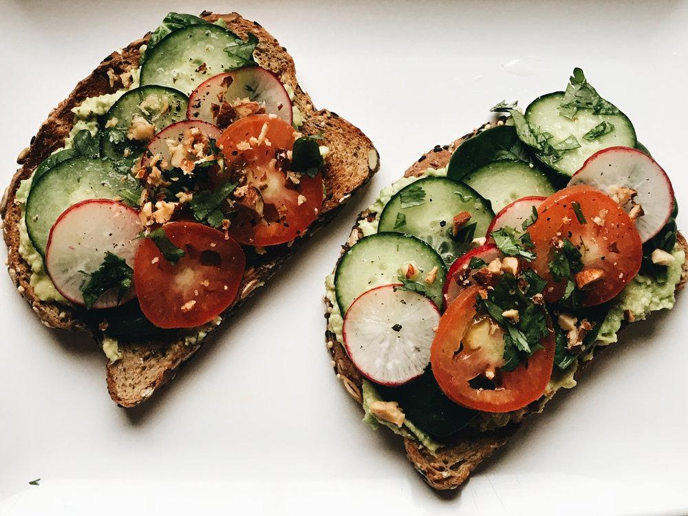 My tasty twist on the ever so popular Avocado Toast | Sam Diego Eats