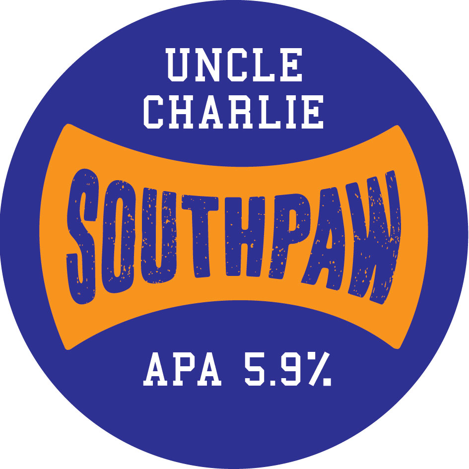 Uncle Charlie APA is a full on hop-packed American-style pale ale.  Bursting with tropical fruit flavours, citrus and pine aromas and punchy up front bitterness all from a combination of classic US and NZ hops.