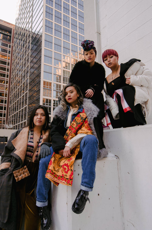 acclimate not assimilate a chicago winter filipina streetwear