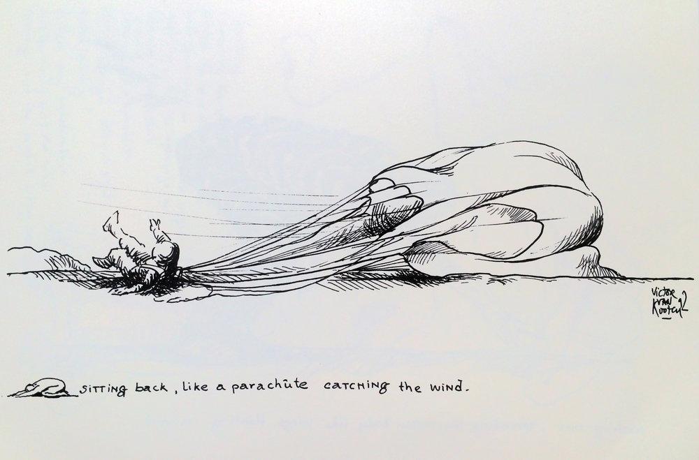 drawing by © Victor  Van Kooten