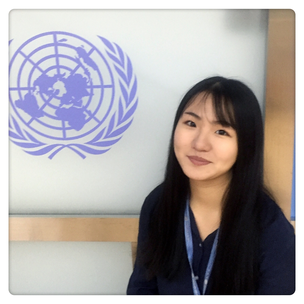 Tong Yuwen - Tong Yuwen is from Beijing. She graduated from Bristol Business School with a bachelor's degree in Business Management. Yuwen has interned at the United Nation Development Program, where she got deeply attached to the 17 SDGs. Later on, she became interested in finding the entrepreneurship opportunities within the SDGs, so she founded the app Yi with her friend. Yuwen is currently the CEO of Beijing Yu-Ao-Hang-Tian Technology Co. Ltd. Yuwen has also worked at CCIEE (Department of External Affairs). There, with a team of 4 brilliant minds, she held ministerial meetings, such as the 2018