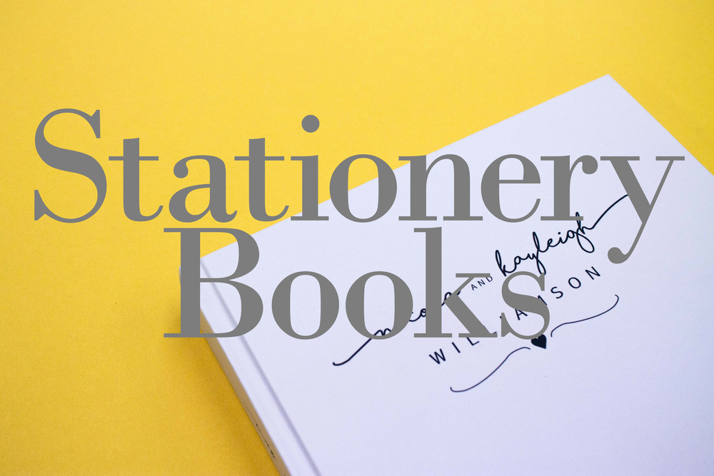 Bespoke Stationery Books
