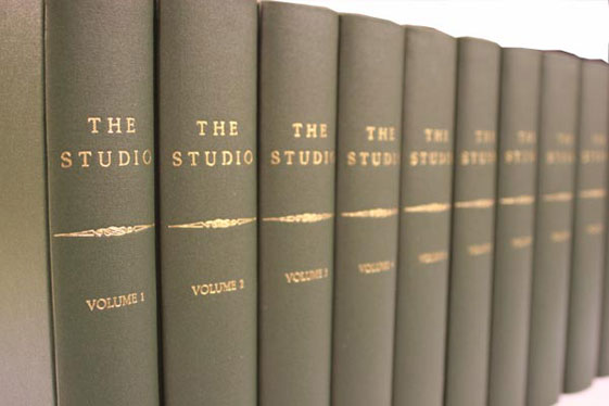 Cloth periodical volumes