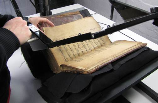 Book digitisation