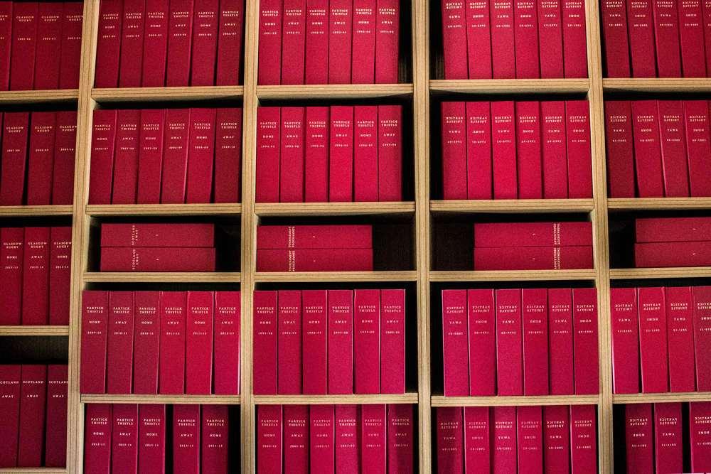 Volume periodical binding