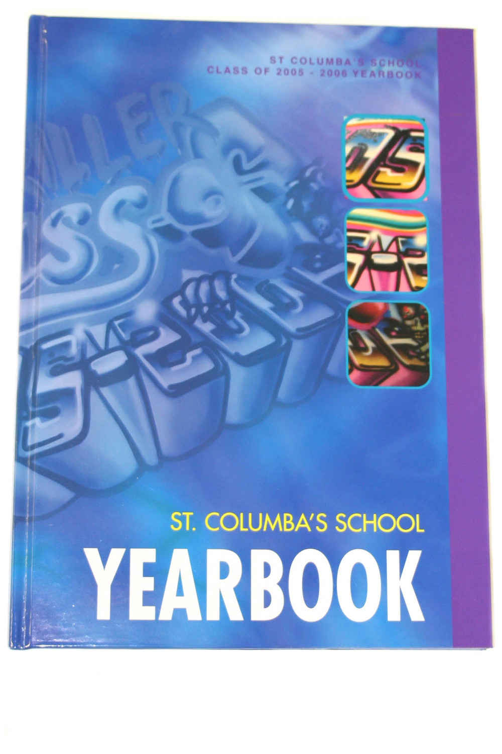 Small run school year book