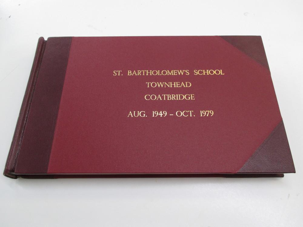 Quarter bound bespoke stationery book
