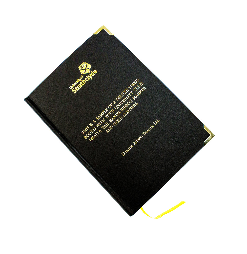 Professional Thesis Binding from €5 per book