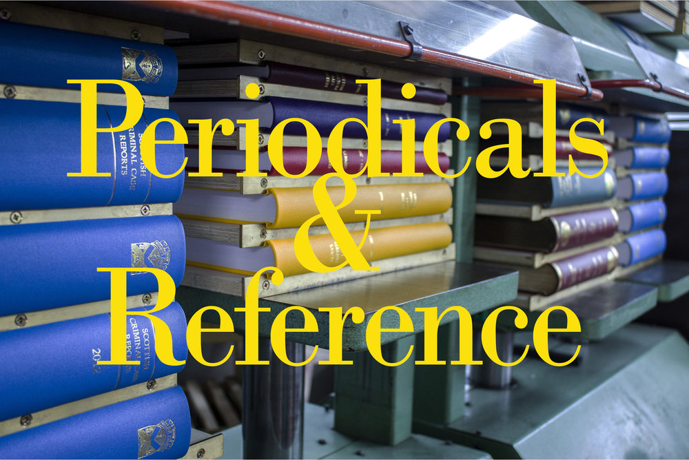 Periodical and reference binding