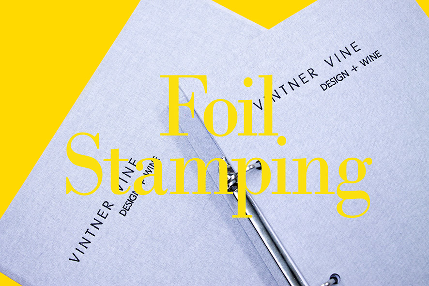 Bespoke foil stamping