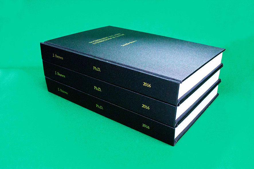 Thesis bookbinders