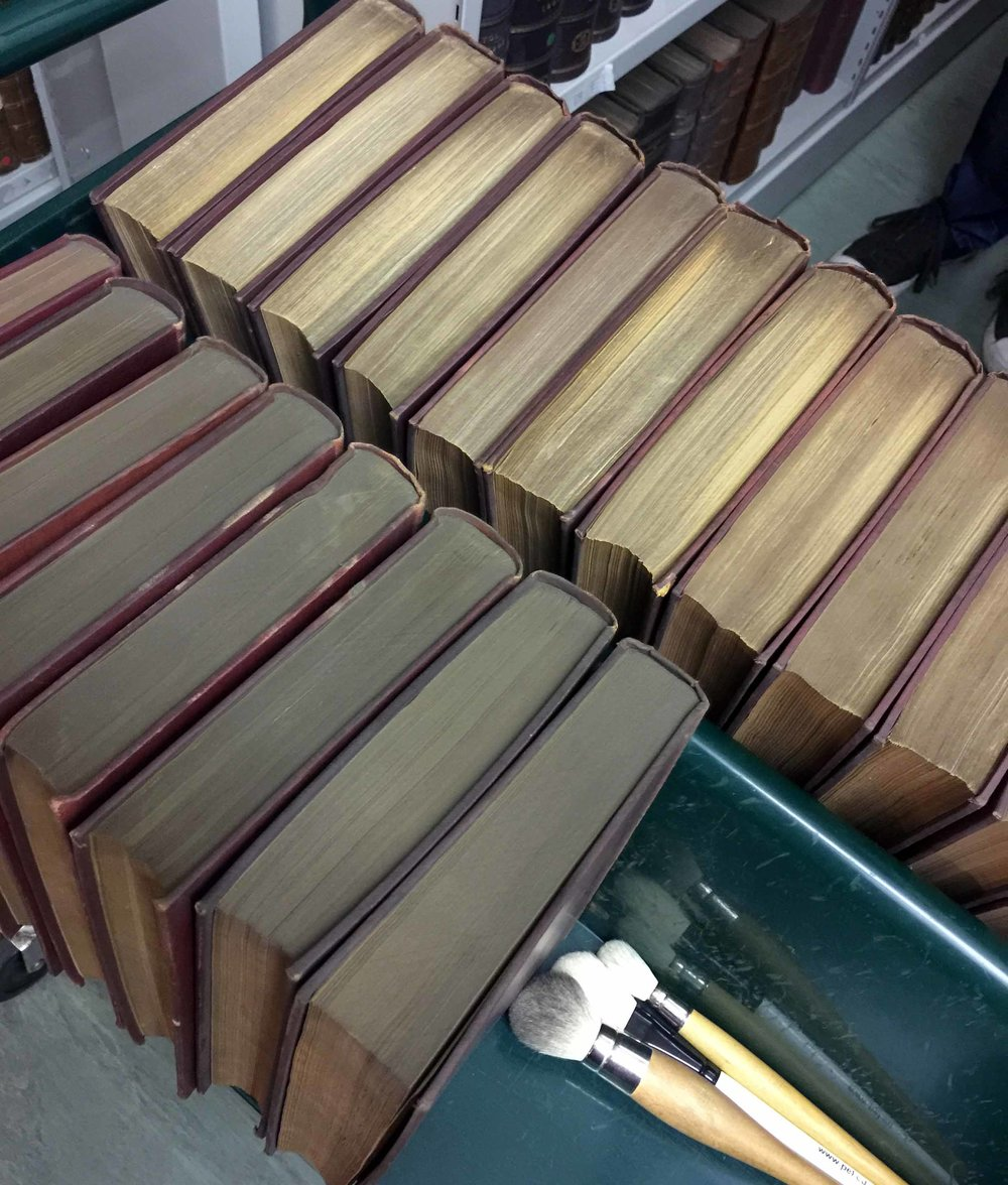 Before and after cleaned books.jpg