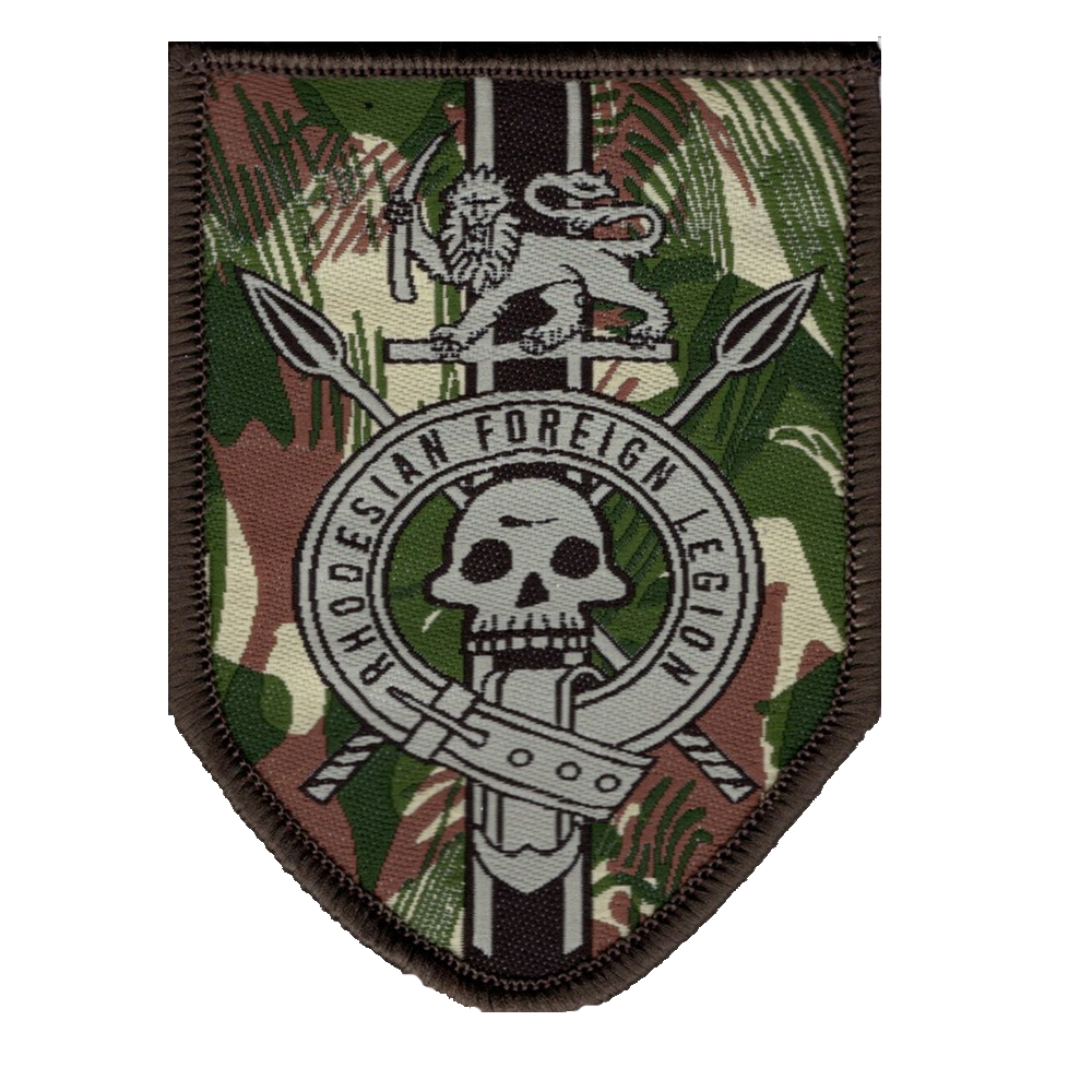 Rhodesian Foreign Legion Tactical Patch