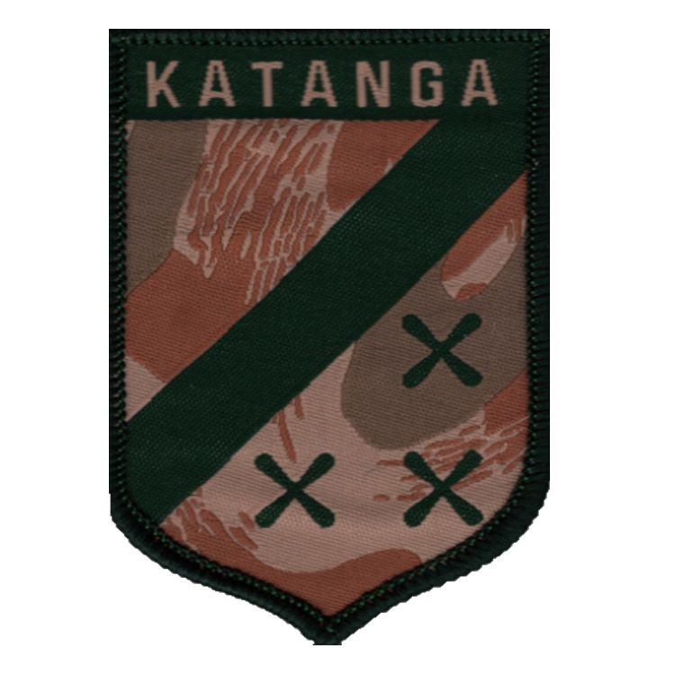Republic of Katanga Patch