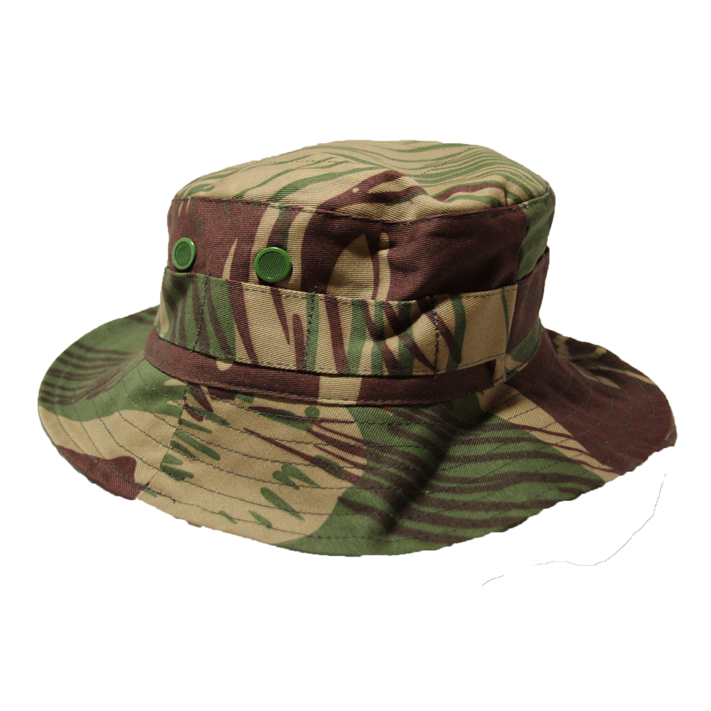 Rhodesian Brushstroke Wide Brim Tilly