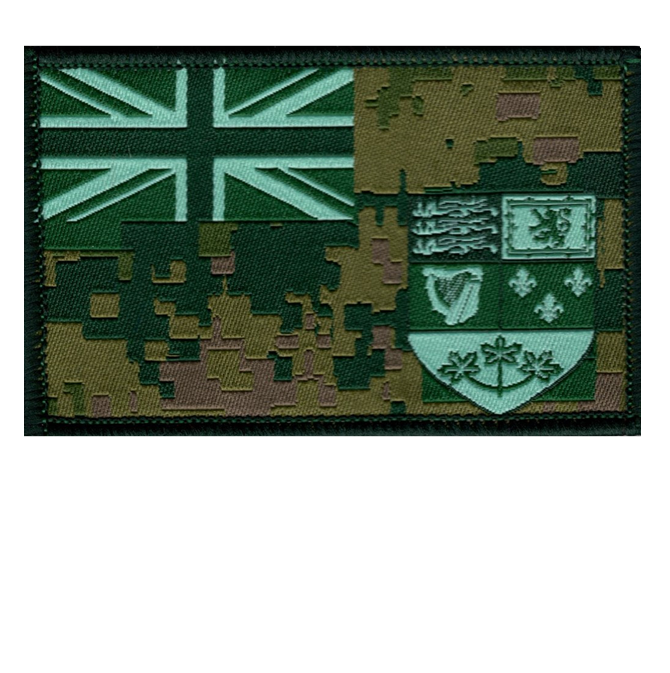 Canadian Tactical Ensign Patch