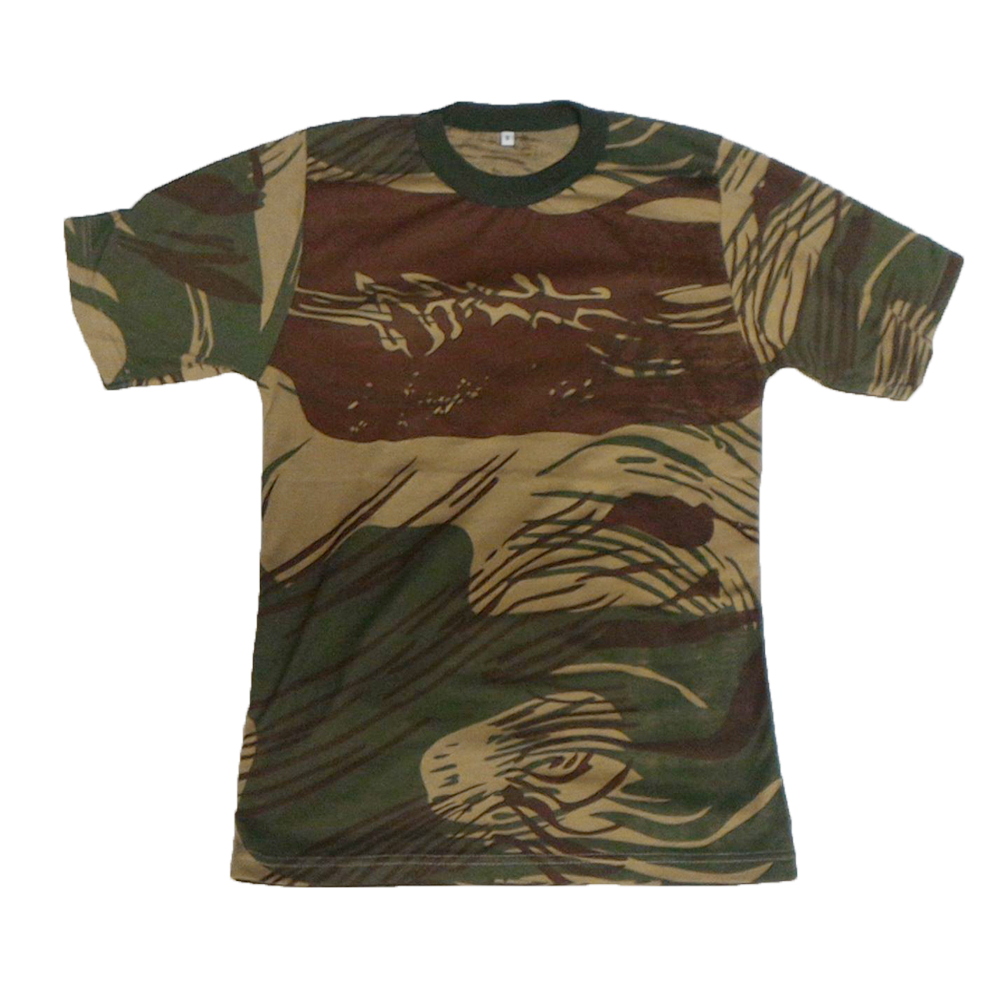 Rhodesian Brushstroke Fitted T-Shirt