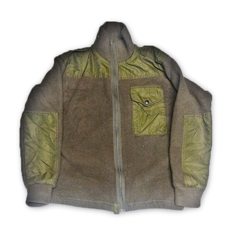 Canadian Army OD Green Fleece Jacket
