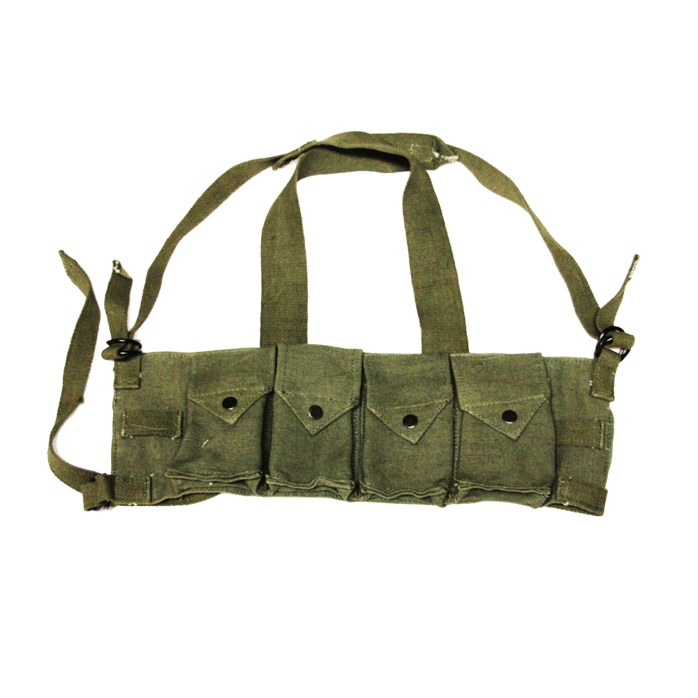 Rhodesian Army Reproduction FAL Chest Rig - OD Green