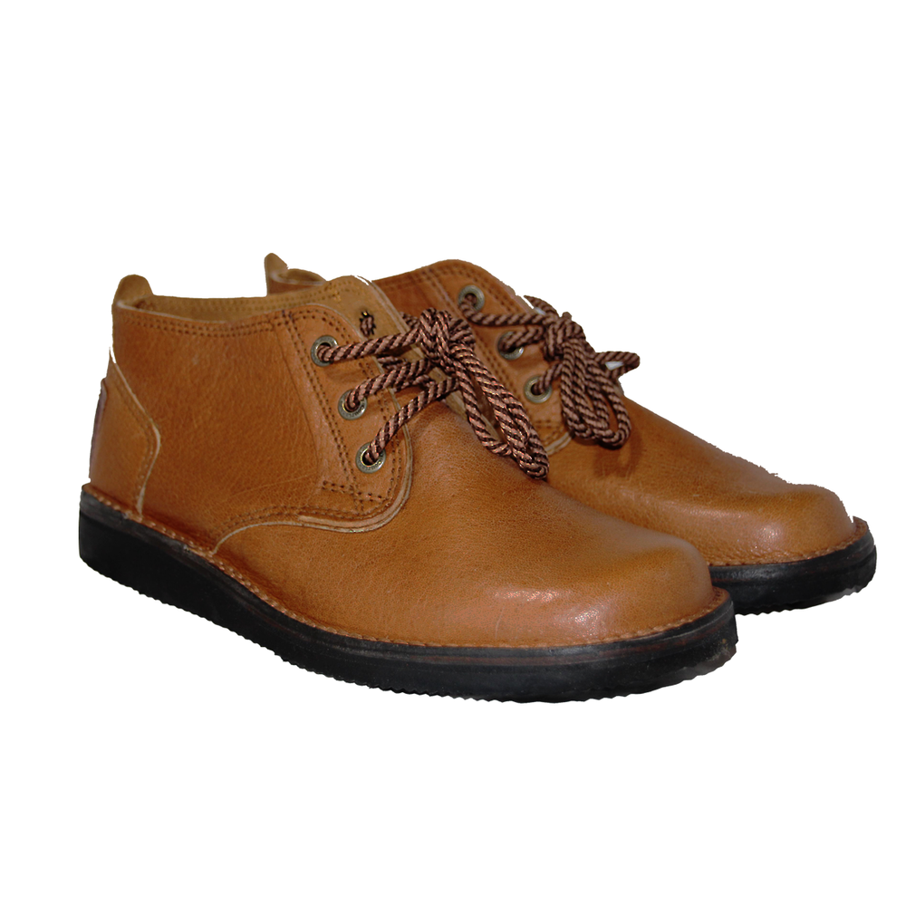 Zimbabwean Courteney Boot Vellie - Tan Suede
