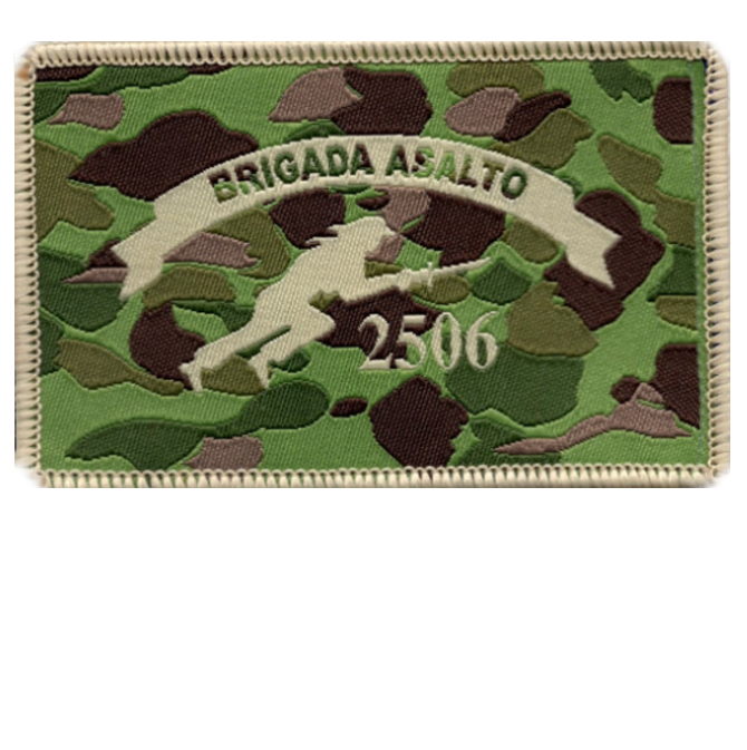 "Cuban Exiles ""Brigado Asalto 2506"" Tribute Patch"