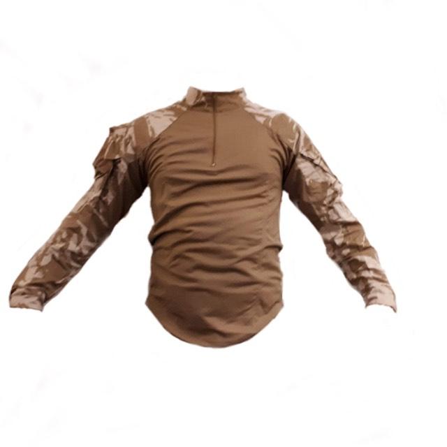British Army Desert DPM UBAC Shirt