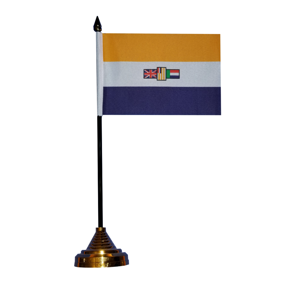 Former Republic of South Africa Table Flag