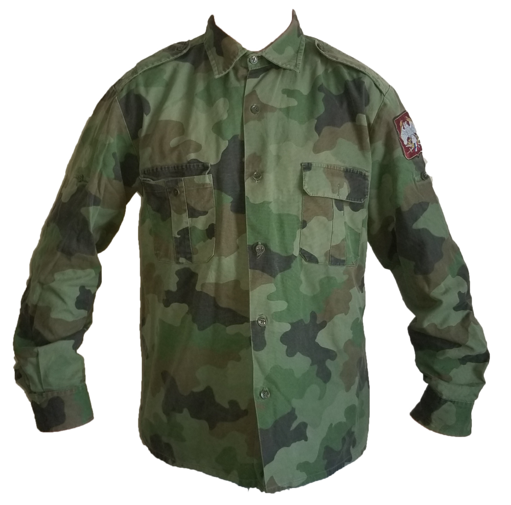 Serbian Army Woodland Shirt