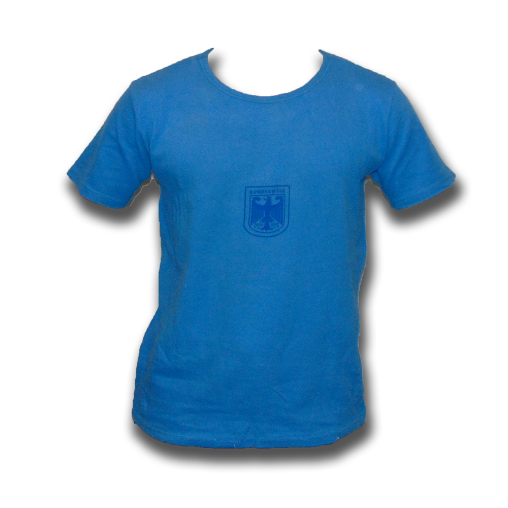 German Army PT Blue T-Shirt