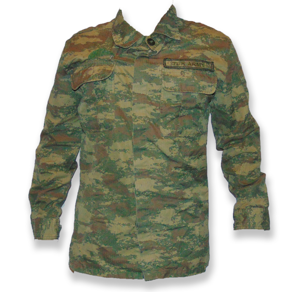 Turkish Army Arid Pattern Shirt
