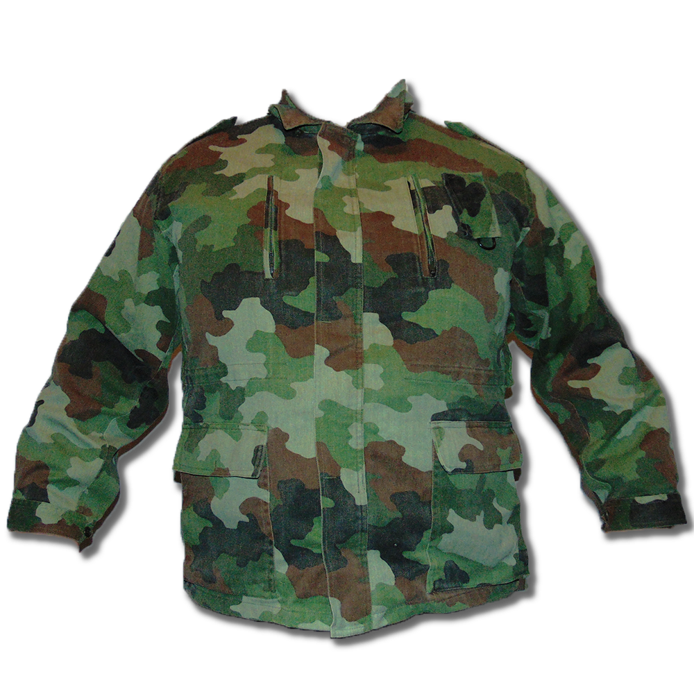 Yugoslavian Army Woodland Field Jacket